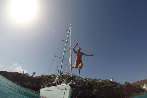 Excursiones en velero en las islas Canarias