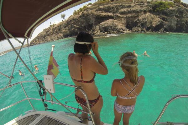 Excursión en velero por aguas cristalinas - Fuerteventura