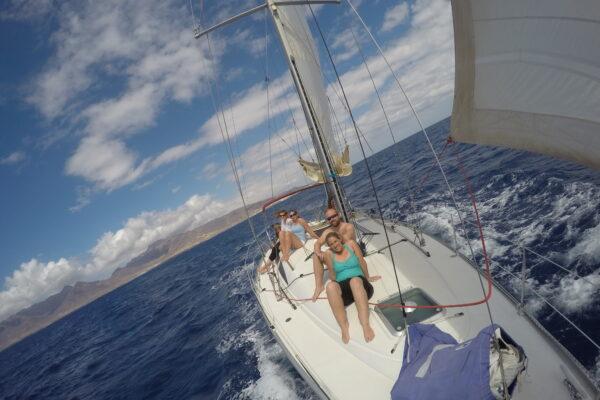 Sailing excursions. Fuerteventura