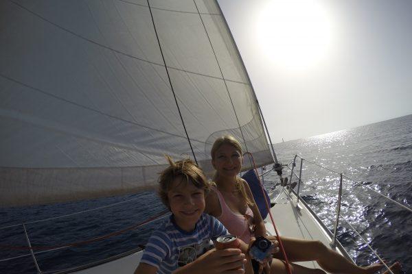 Excursiones en velero en Fuerteventura