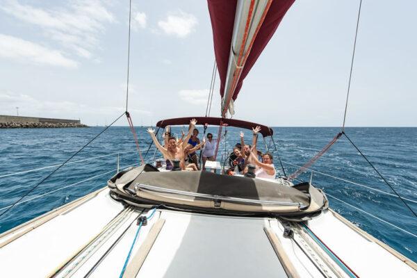 Excursiones privadas en nuestros veleros por Fuertevenrura